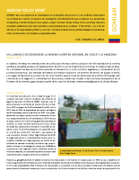 Policy Brief GOMIAM Colombia
